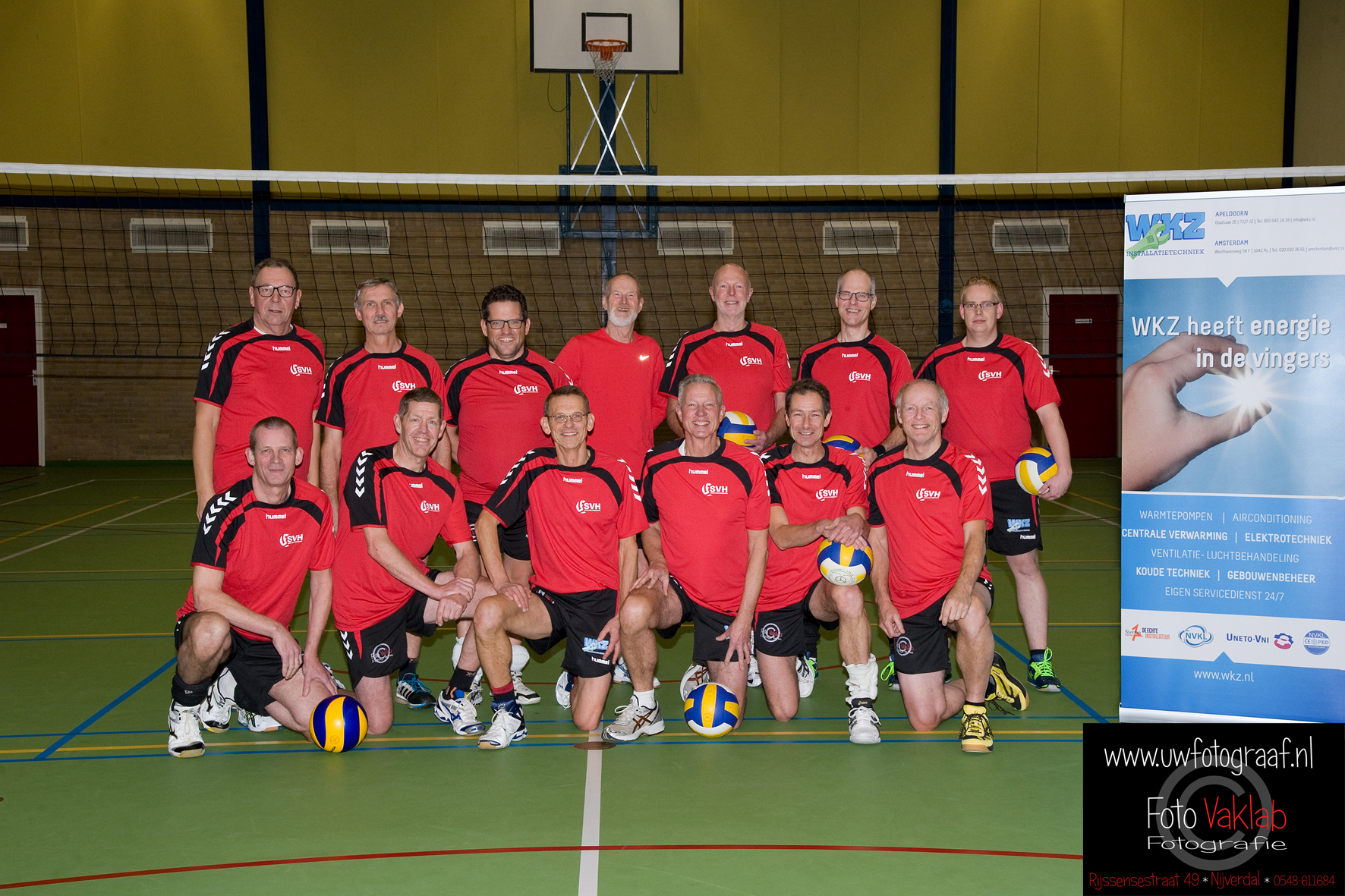 svh volleybal Heren Recreanten