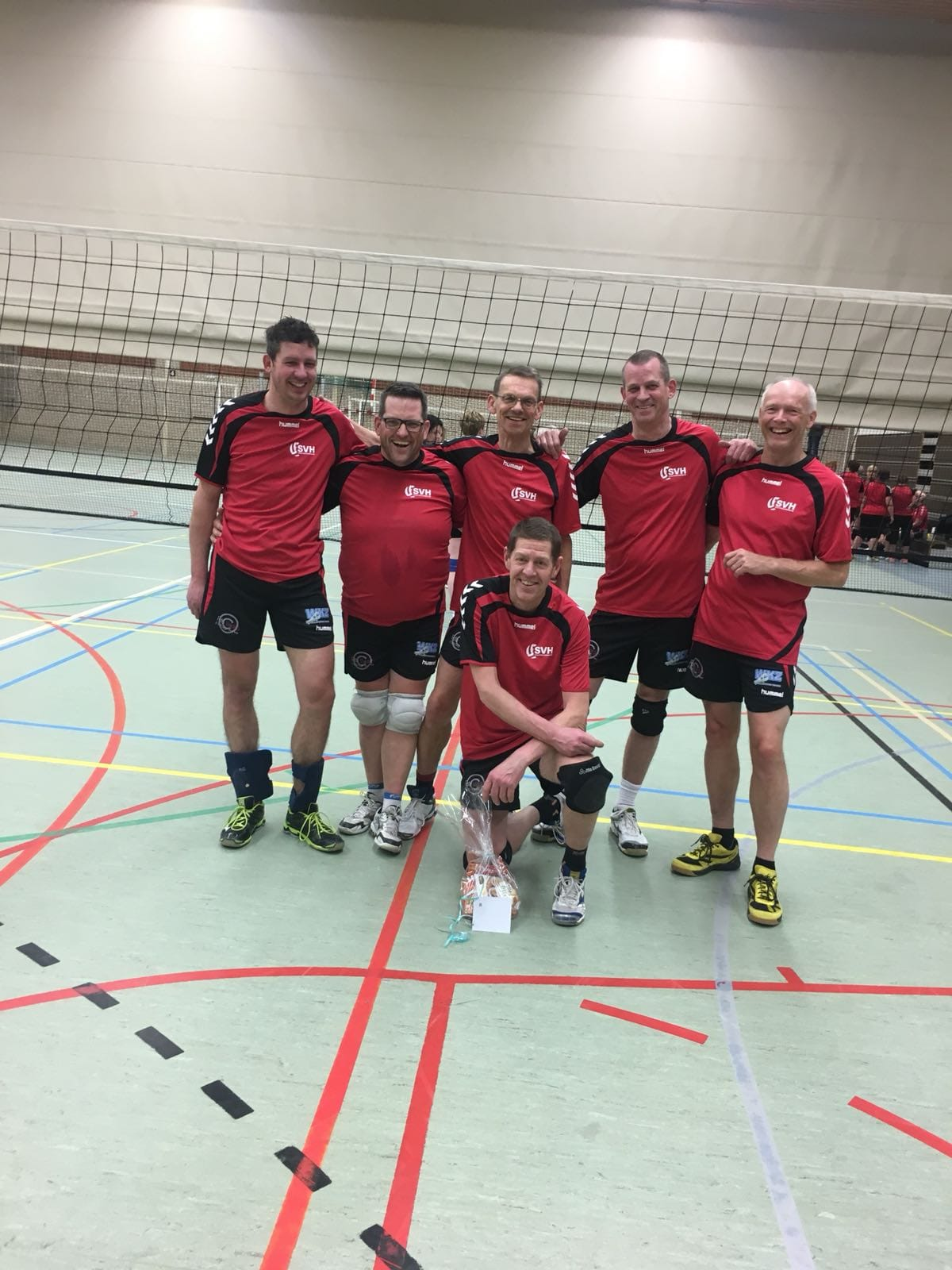 svh volleybal Heren 2 Reacreanten