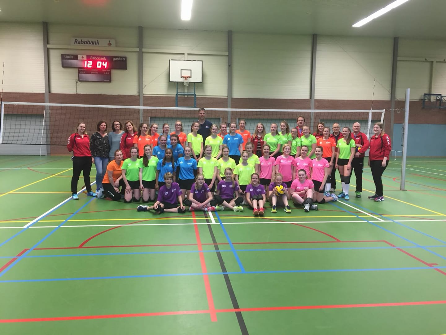 svh volleybal Centrale training 2018 Thijs ter Horst