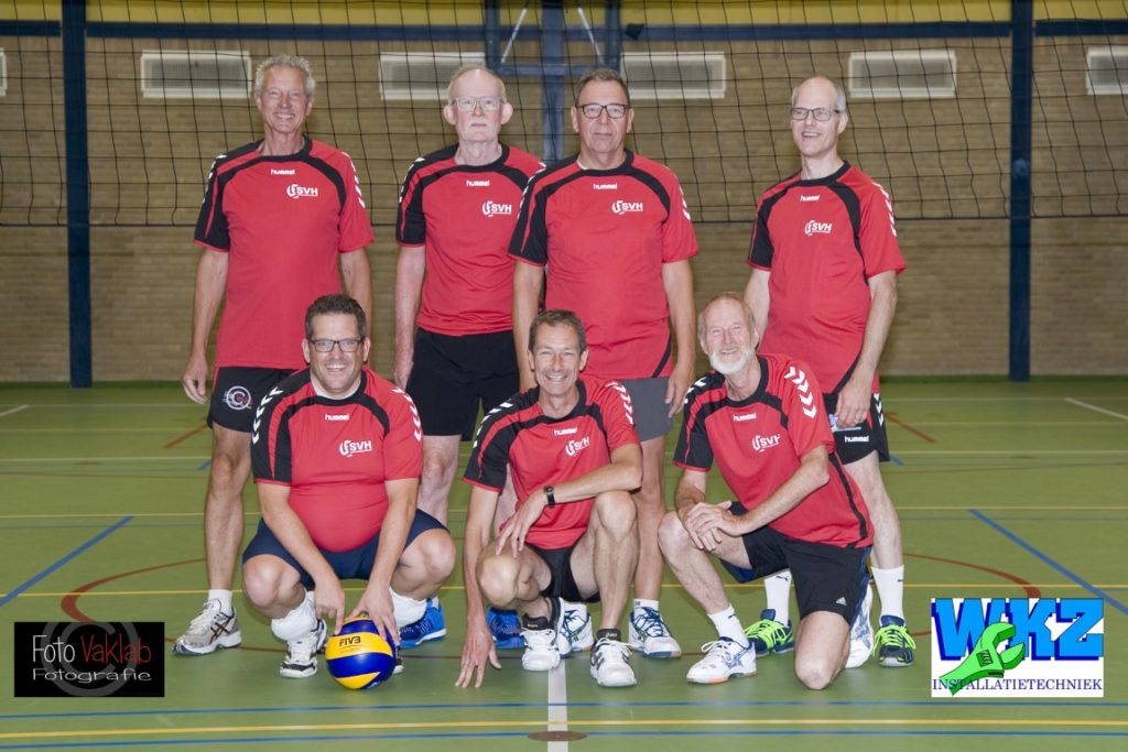 svh volleybal Recreanten Heren A team 2018