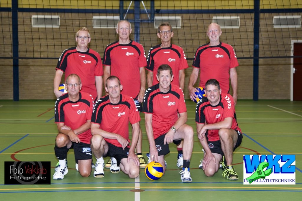 svh volleybal Recreanten Heren B team 2018
